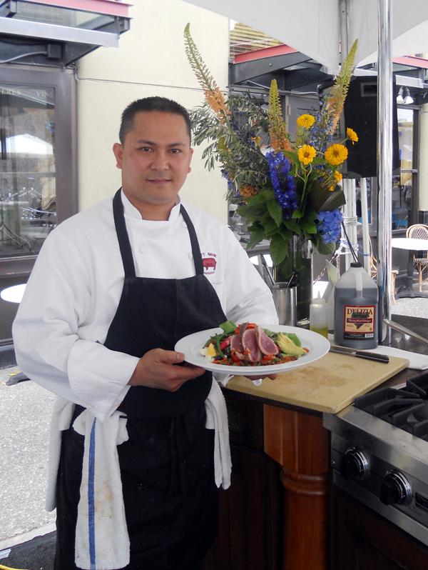 Chef Brendy Monsada. (photo courtesy of Left Bank Brasserie)