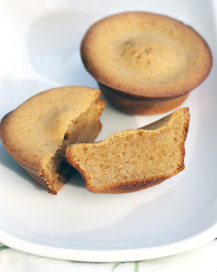 Brown-butter mochi -- in a perfect size to satisfy.