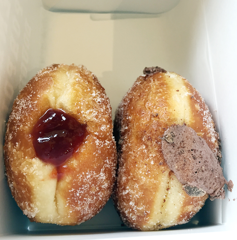 Doughnut love.
