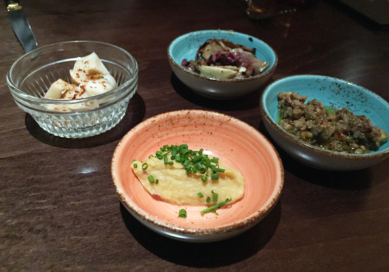 A California-western-take on banchan.