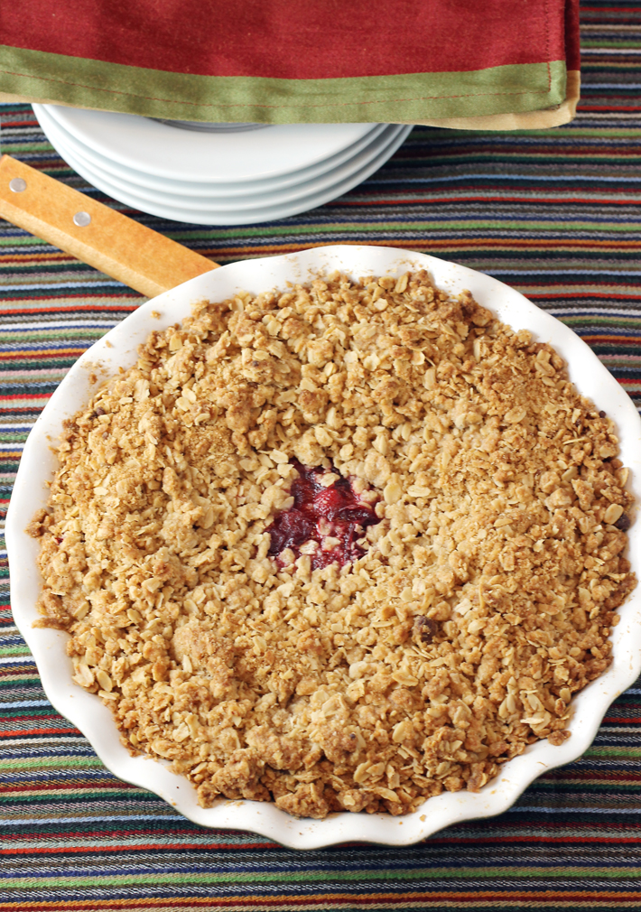 But in the end, it's just the right amount of streusel after all.