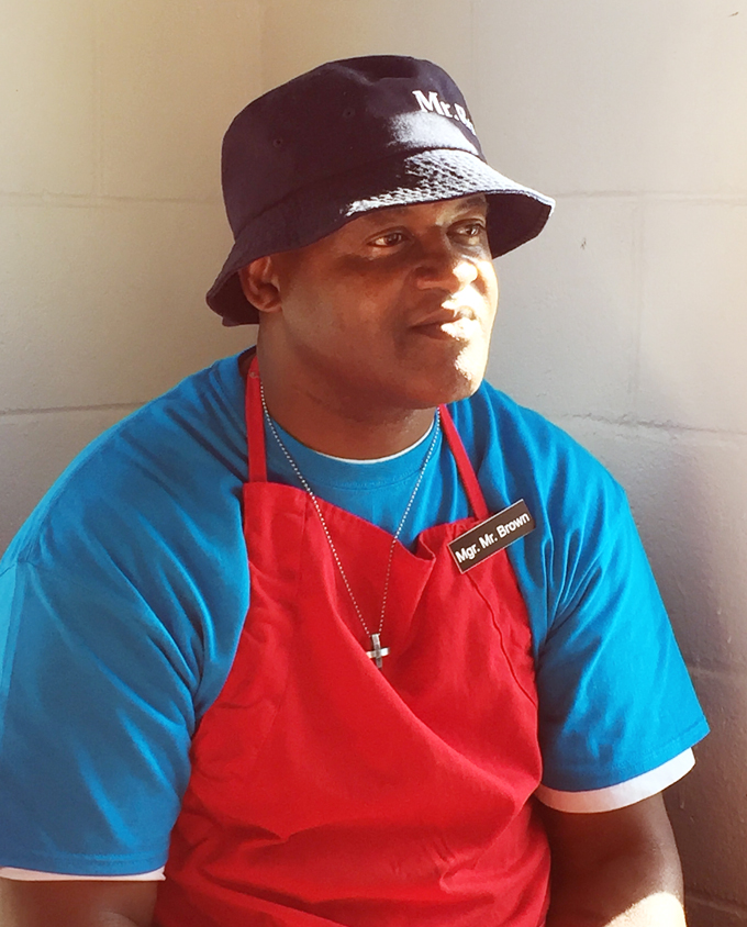 Chef Michael C. Brown.