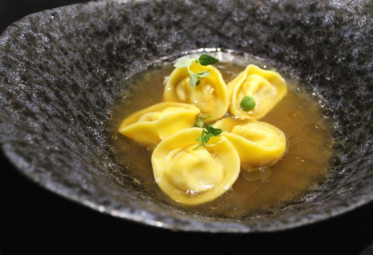 Wagyu dumplings.