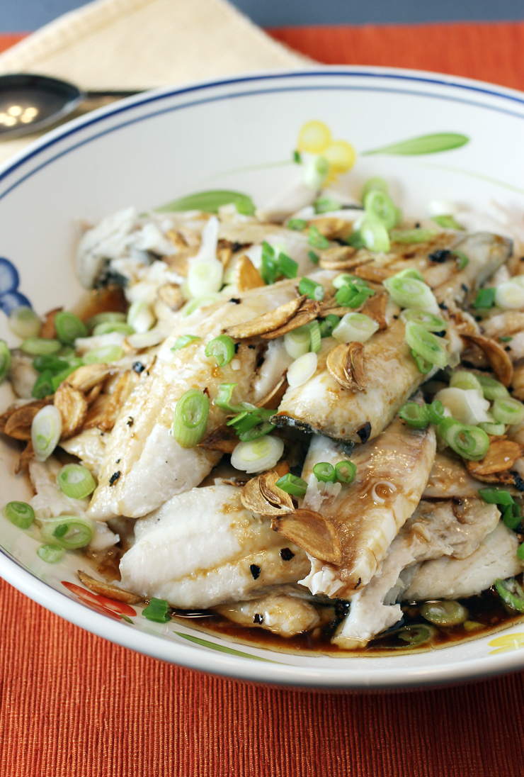 The easy way to make a lot of steamed fish at once -- in the oven.