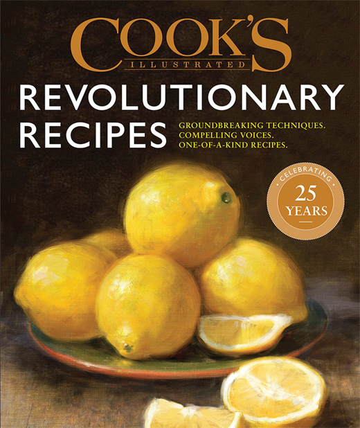 Revolutionary Recipes