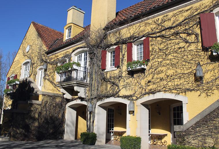 The Jordan Estates chateau.