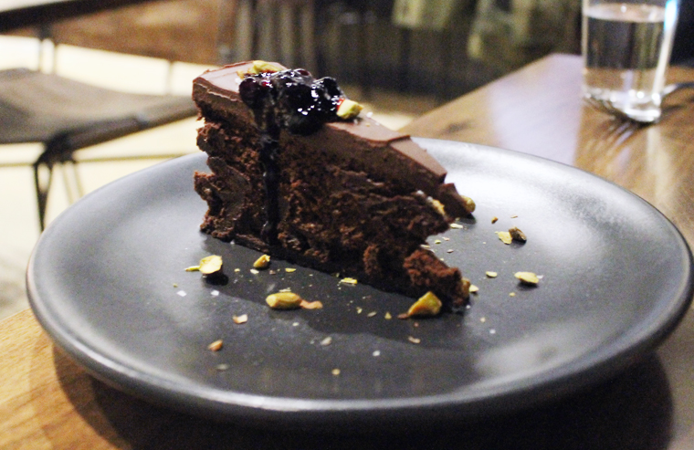 Flourless chocolate cake for the win.