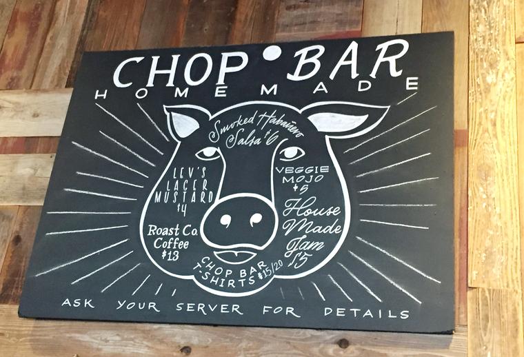 The restaurant's mascot.