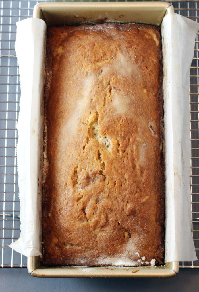 This may very well be the ultimate banana bread.