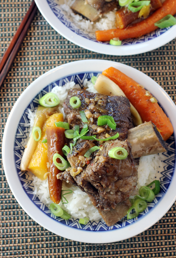 Comfort food with Asian flair.