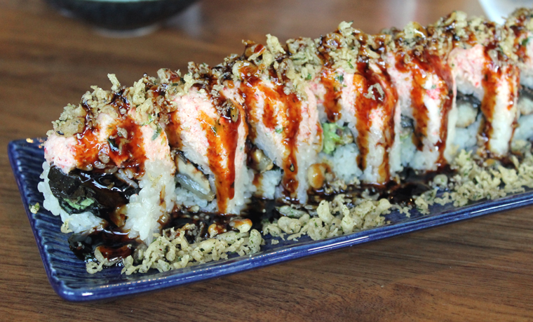 The fully loaded Crunch roll.