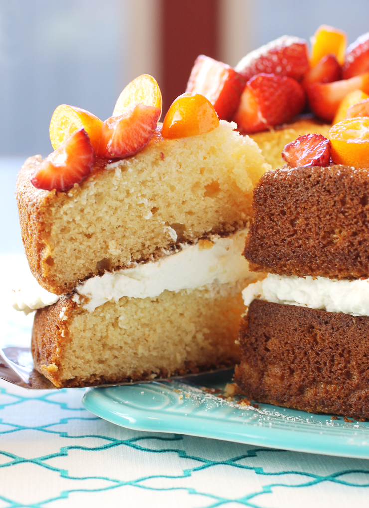 Moist and fluffy, and with a distinctive honey taste.