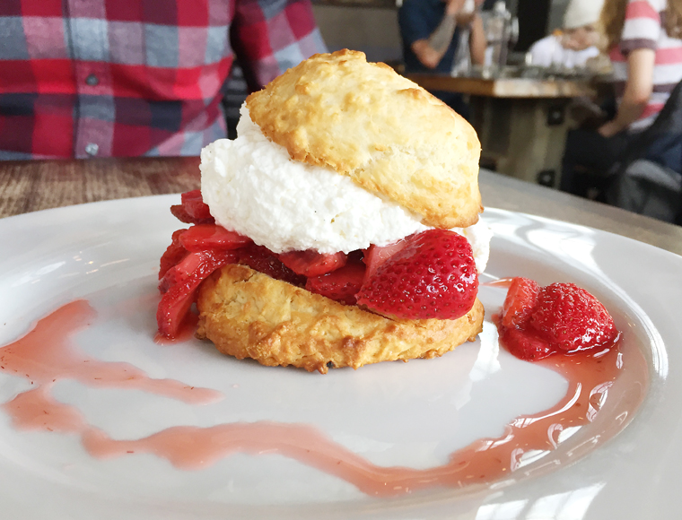 Strawberry shortcake for the win.