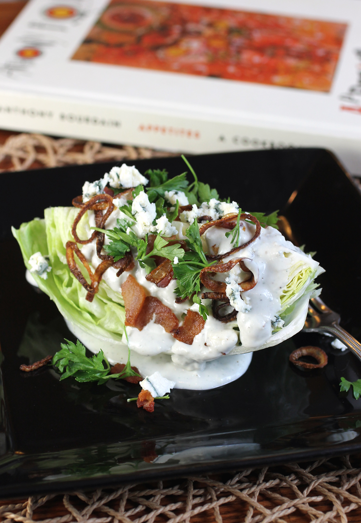 Dig into Anthony Bourdain's easy and classically wonderful wedge salad on Bourdain Day.