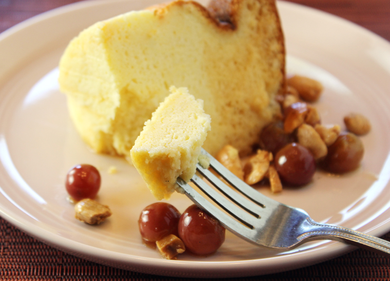 If you find traditional cheesecake too heavy and rich, this one will be a nice change of pace.