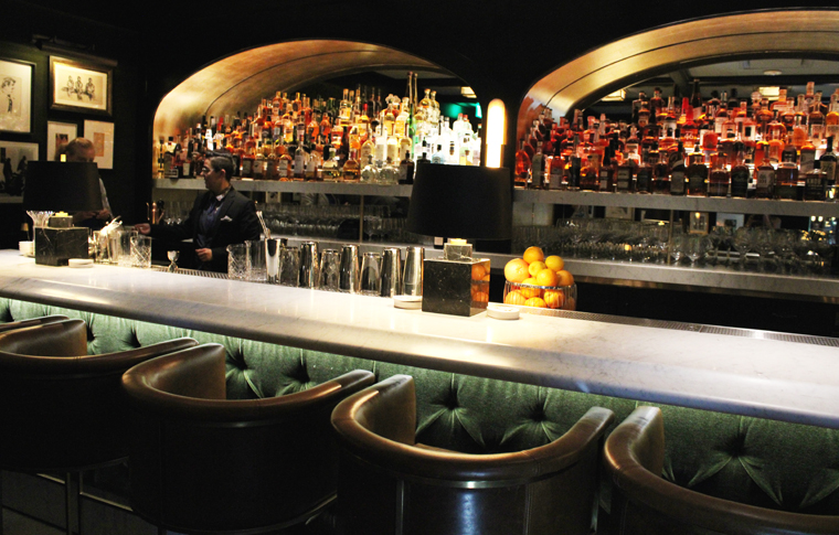 The swank bar.