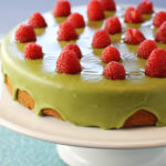 Raspberry Mochi Butter Cake Close TopNewsletter