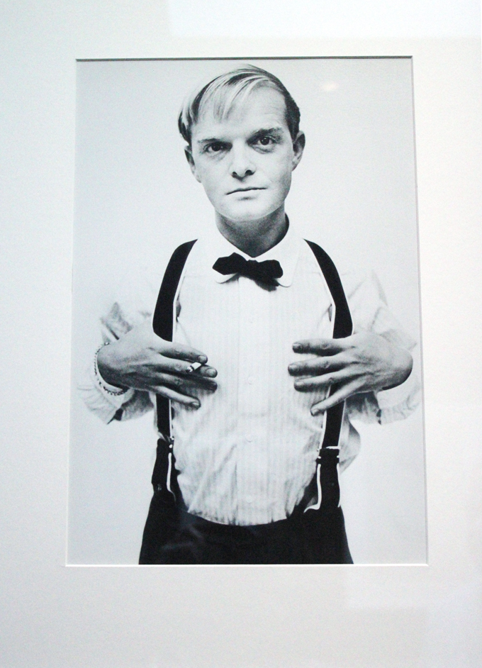 A very young Truman Capote.