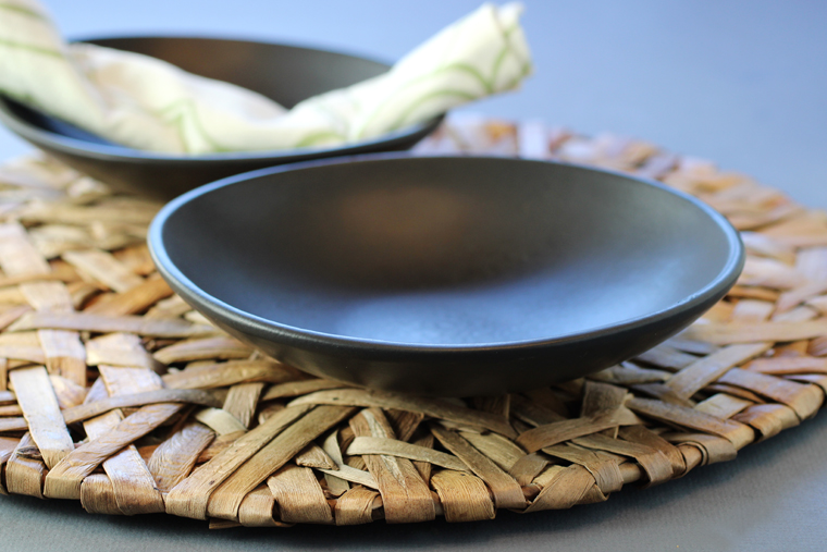 These handmade Carthage Co. dessert plates make everything look modern and trendy.