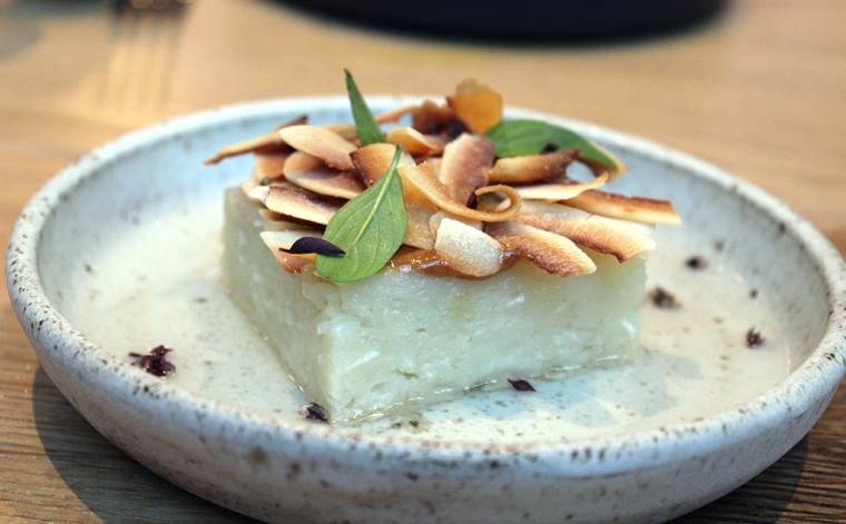 An addictive coconut cake.