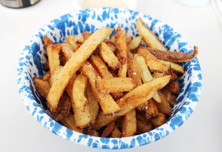 Perfect fries.