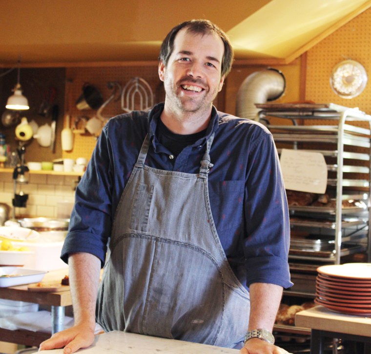 Chef Perry Hoffman's return to the place it all started for him.