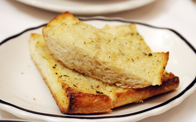 Garlic bread to go with it.