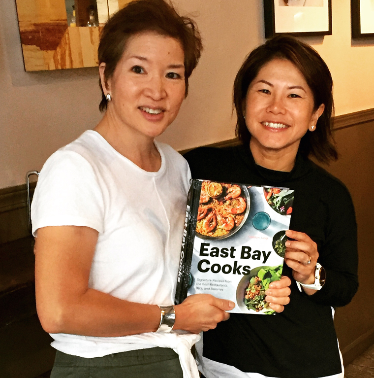 "Yours truly with Owner Denise Huynh, whose restaurant is featured in my new cookbook, ""East Bay Cooks.''"