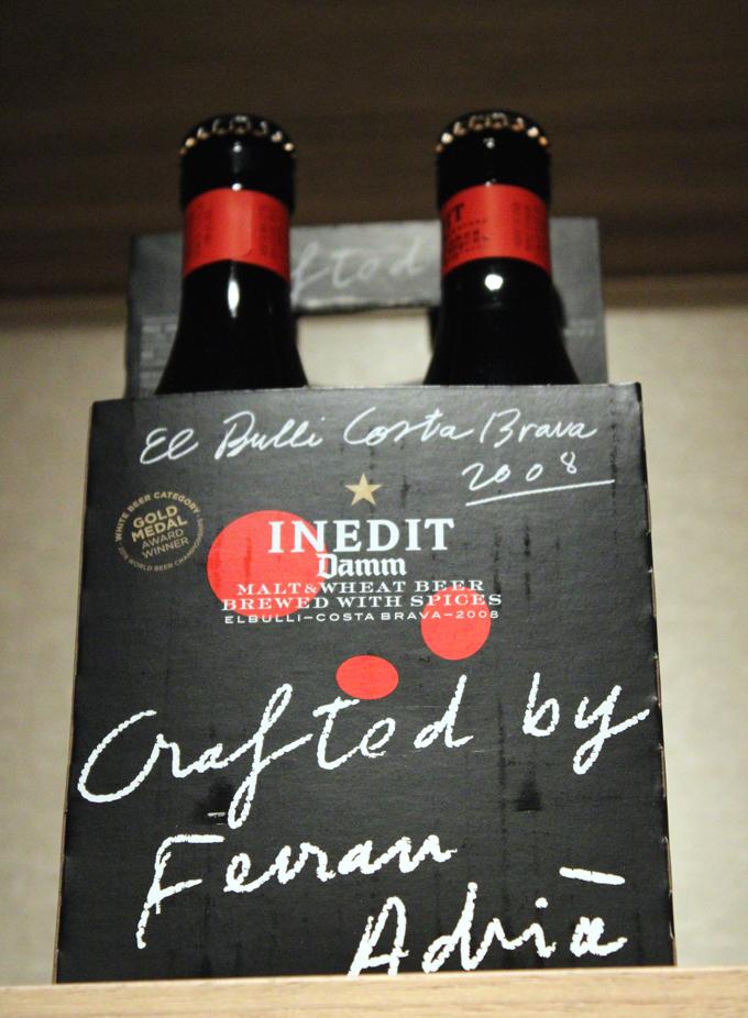 Ferran Adria El Bulli beer.