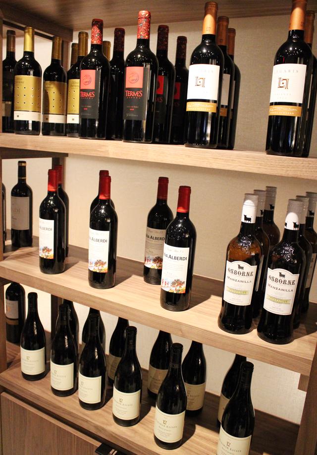 Spanish wines.