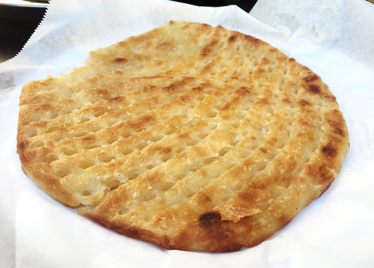 Flatbread as pastry -- the sheermal.