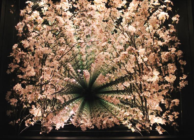The stunning cherry blossom mirror.