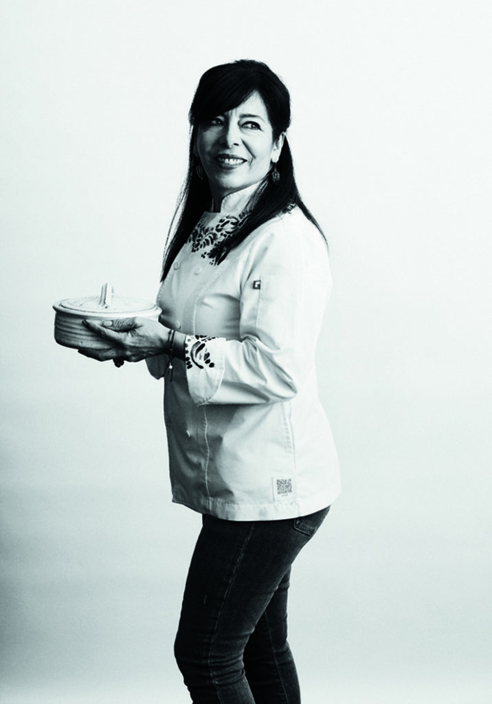 Chef Gloria Dominguez, who nutured Tamarindo Antojeria Mexicana for 14 years. (Photo by Eva Kolenko)