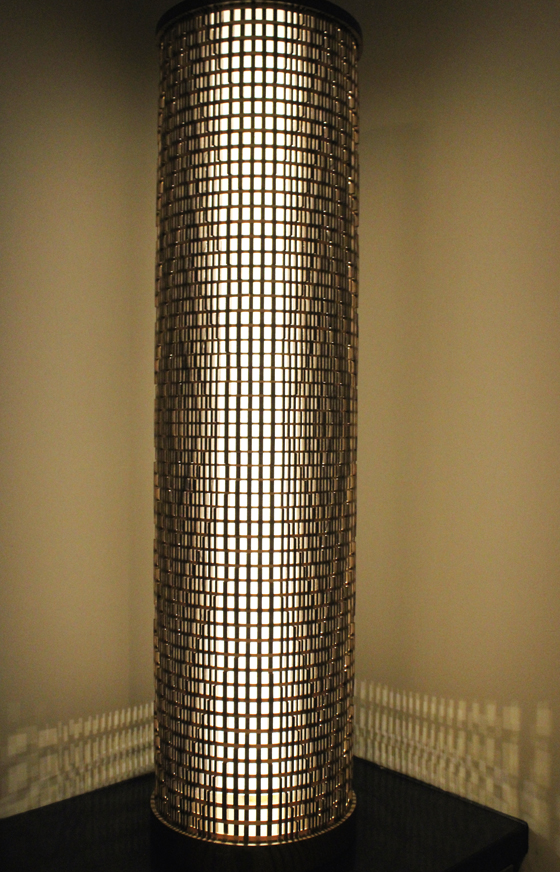 A $10,000 hand-made lamp.