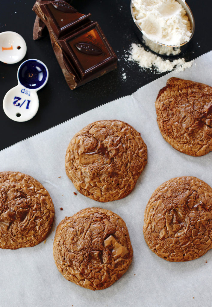 Is it a brownie or a cookie? It's a cookie that tastes like a brownie.