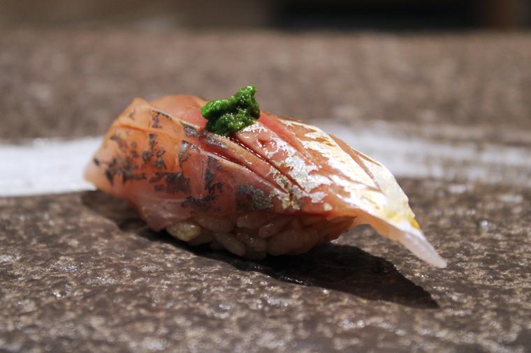 Japanese horse mackerel.