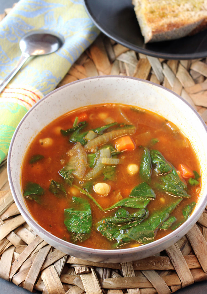 A nourishing North African-style soup.