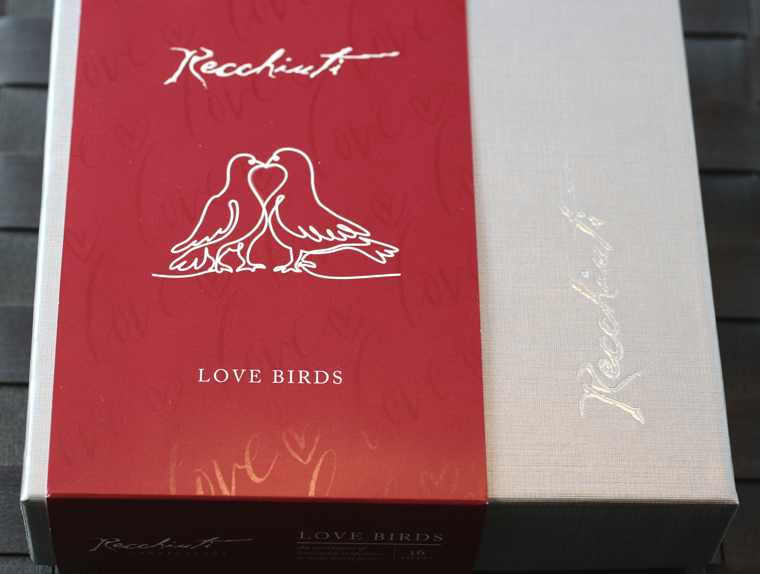 The Valentine's Day-ready box.