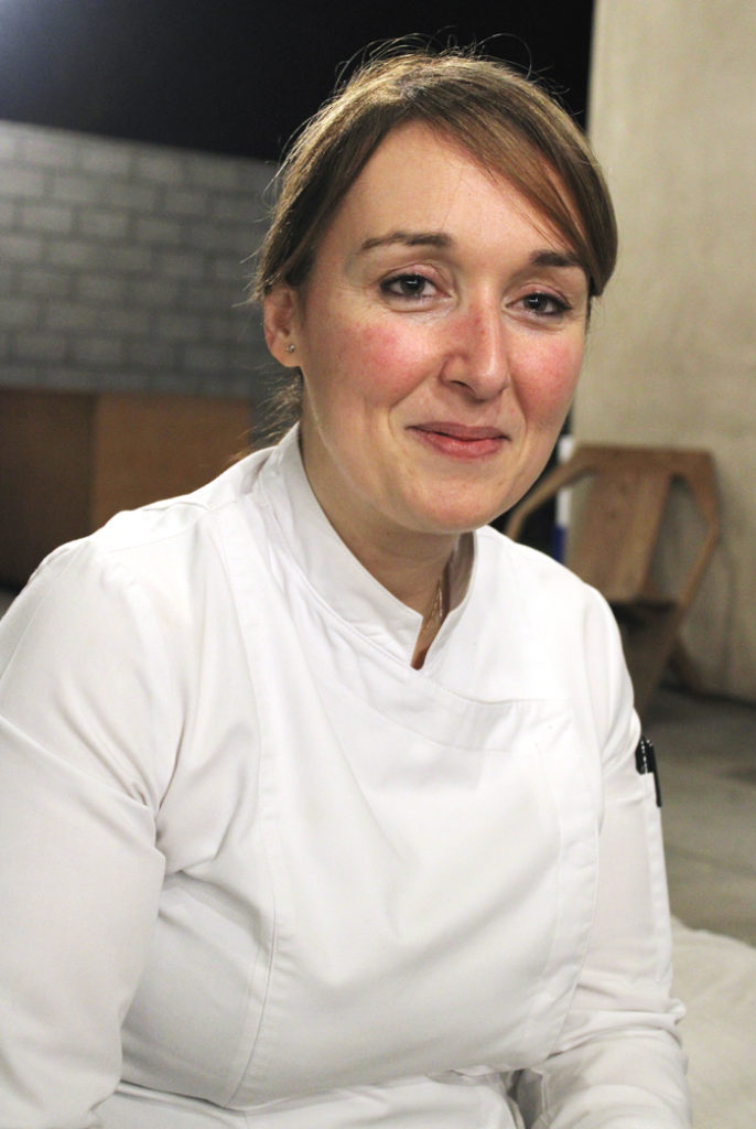 Italian-born Executive Chef Simona Oliveri.