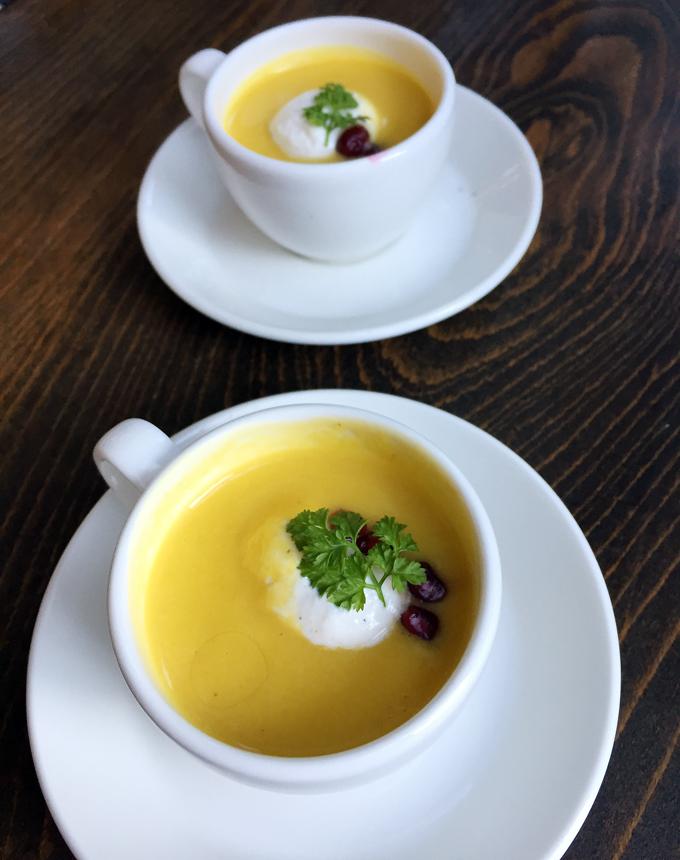 Scargle's butternut squash soup.