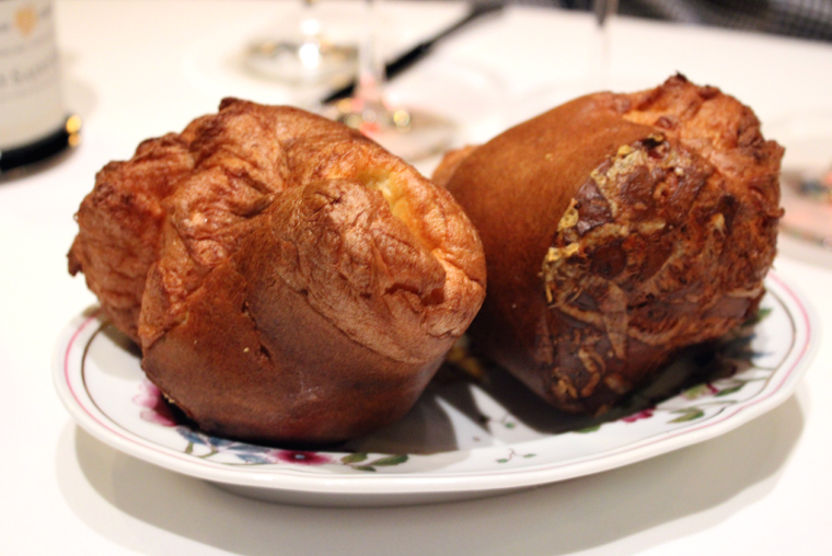 Popovers, warm and airy.