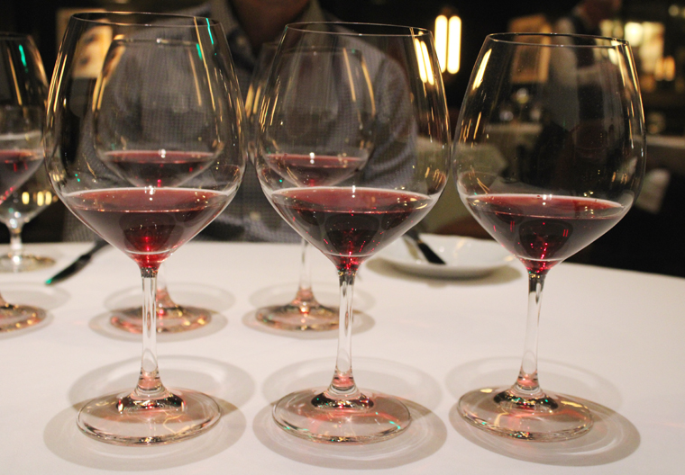 Enjoy one glass of burgundy -- or a flight.