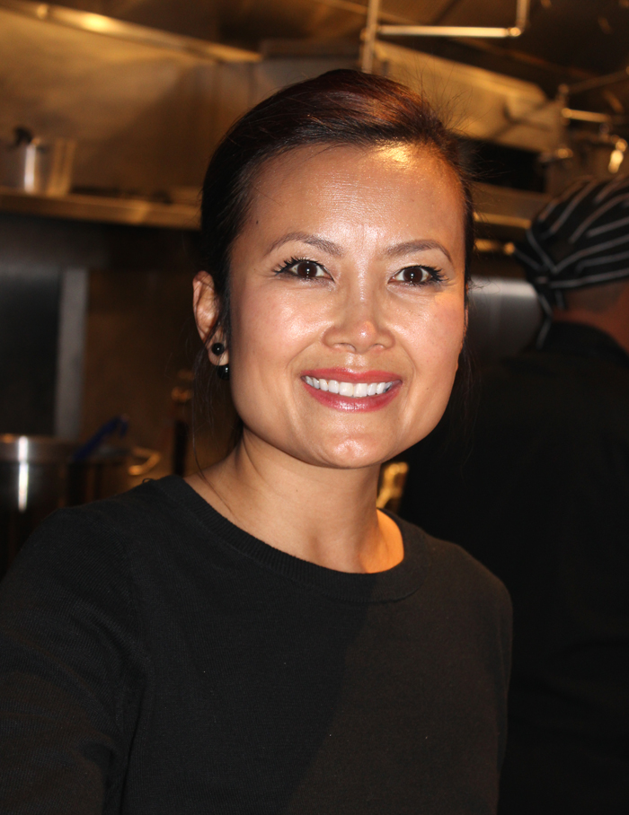 Anne Le Ziblatt in the kitchen of her new Nam Vietnamese Brasserie.