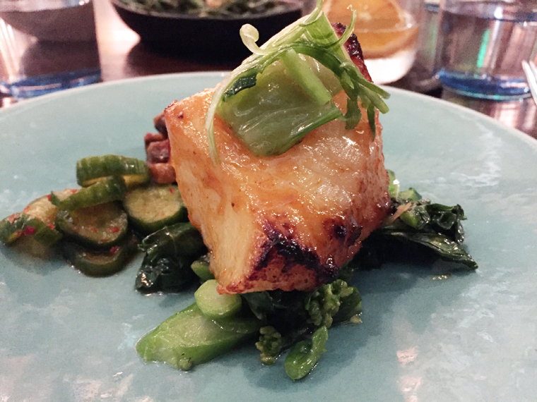 A melt-in-your-mouth butterfish.