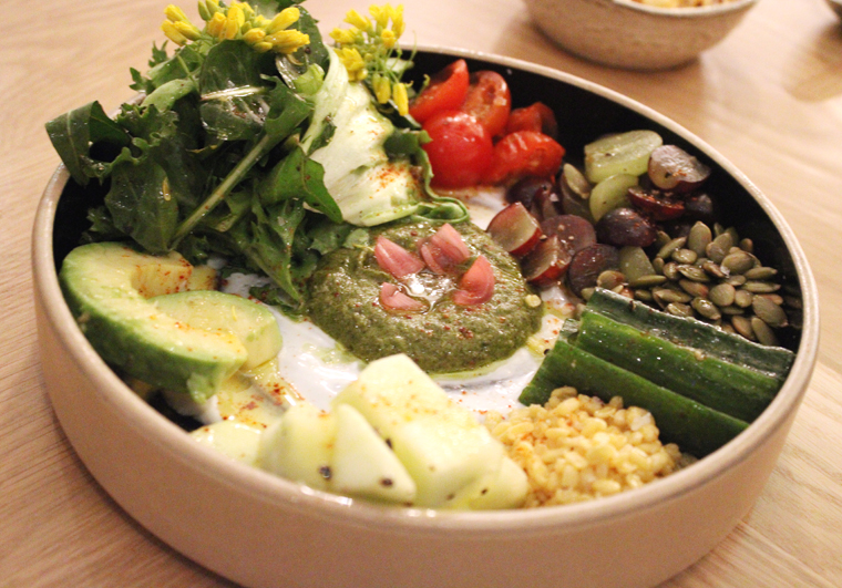 The Ettan salad.