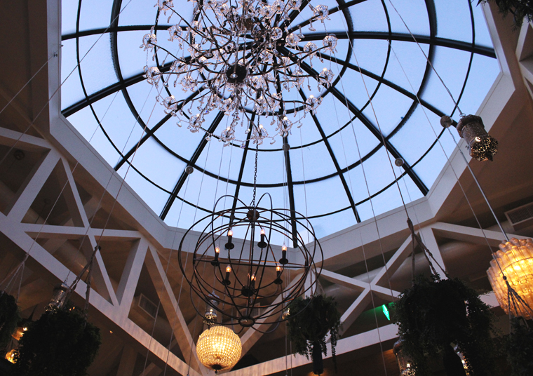 The grand dome.