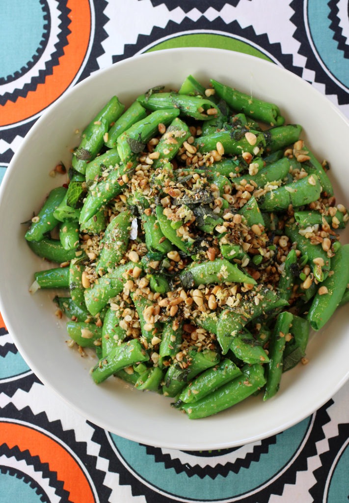 You won't want to cook sugar snap peas any other way after this.