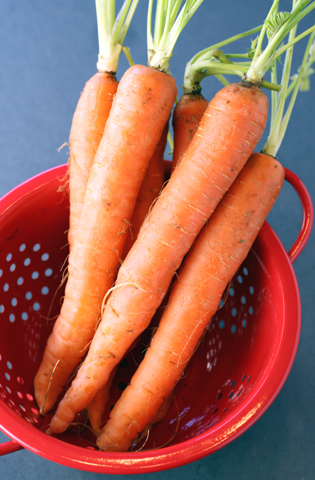 Nantes carrots are worth seeking out.