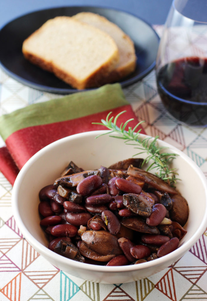 A hearty, vegetarian take on French bourguignon.