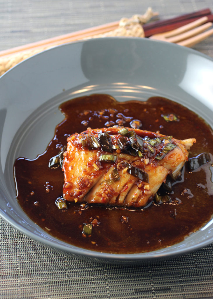 Saucy and sensational black cod.